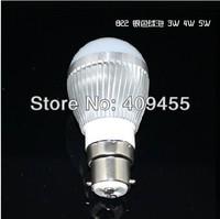 Wholesale (10pieces/lot) AC85-265V B22 Led Bulb 9w 7w 6w 5w 4w 3w Warm White /White light LED Lamp Lighting Bulb