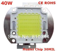 40W LED Module ,Hualei chip 30MIL,LED Light Beads, LED light, Integrated High-power Light source,CE ROHS.