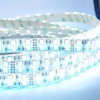 5M DC12V 28.8W/m 144W 120leds/m 600leds Waterproof IP65 Double Row Line RGBW Color Tape LED Strip Light SMD5050