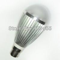 Wholesale (10pieces/lot) B22 AC85-265V Led Bulb 3w 4w 5w 6w 7w 9w Warm White /White light LED Lamp Lighting Bulb