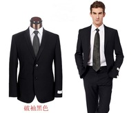 2014 latest coat pant designs best quality  two button three pieces wedding suits for men size S-4XL