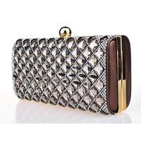 Fashion evening bag day clutch lady 2014 diamond jewel women's fashion banquet party bag free shipping