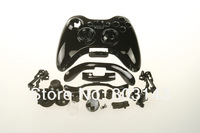 HOT NEW Chrome black for XBOX360 Wireless Controller Housing Shell Case