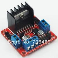 Wholesale 10pcs/ lot New Dual H Bridge DC Stepper Motor Drive Controller Board Module L298N
