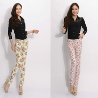 2014 spring and autumn trousers Women women's casual pants trousers pencil pants