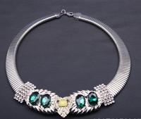 NEW 2014 fashion women chain choker necklaces bib collar design necklace & pendant luxury statement necklace jewelry wholesale