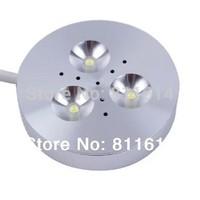 Surface Mounted 12V LED Puck Light 3W for Kitchen Cabinet Lighting