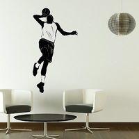 Basketball Sport Wall Sticker Stylish Vinyl Decal Art Home Decoration Mural