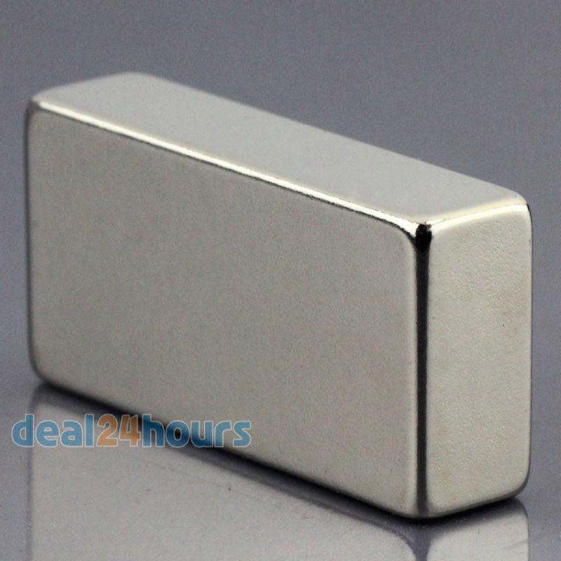 1pc n50 super forte bloco cuboid neodímio ímãs 40 x 20 x10mm terra rara