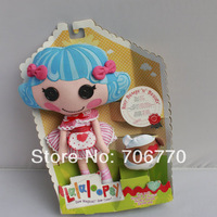 LOTS RETAIL Lalaloopsy  Stuffed Dolls Rosy Bumps n Bruises Gifts for Preschool child Free shipping age4-104 COOL~
