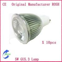 10pcs/Lot  5W  LED MR16 LED Spotlight  GU5.3  lamp