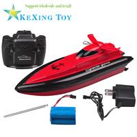 new radio control RC mini speed boat / remote control boat / 20 km / h lithium battery electric remote control boat dual motor