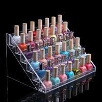 Nail polish oil display rack acrylic lipstick display rack holder cosmetics storage rack