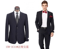 2014 tuxedos for men slim wool suit best quality two button wedding suits for men plus color size S-4XL
