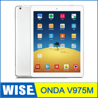 NEW 9.7 inch Onda V975M Tablet pc Amlogic M805 Quad Core 2.0GHz  RAM 2GB ROM 32GB 9.7 inch Retina 2048*1536 Screen Android 4.3