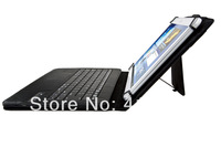 2014 Newest 2 in 1 Pu Leather Bluetooth Keyboard Case For 9/10 inch Tablet