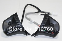 In stock!! 2011-2012 KIA Rio/K2 High quality original Steering wheel Audio,channel and bluetooth control button Free shipping