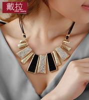 For necklace female fashion short design false collar decoration necklace clothes pendant necklaces 2014 women Wholesale TN214