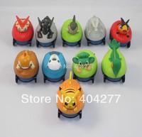 Set of 10 Pokemon / Pikachu Pull-back Motor Children's Toy Water Toy