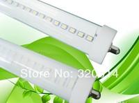 FREE SHIPPPING T8 44W LED Tube Lamps SMD2835 FA8 single pin LED tube lighting 2400mm AC 85-265V LED lights CE & RoHS