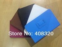 Lenovo A1000 Case,Original 7'' Book Style Lichi Grain Folding PU Leather Case For Lenovo A1000 Tablet, Five Color, Free Shipping