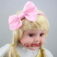 Children Accessories Girls Cute Hairband Baby Hair Accessories Kids Hair Bows Fashion Princess Multicolour Bowknot Headwear