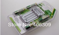 BTY 4*1350mah 1.2V Rechargeable Battery AAA + BTY-809 AAA/AA Battery charger Free Shipping