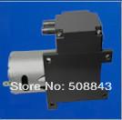 15L/M dc 12V electric mini  brush  diaphragm vacuum pump with motor