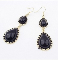 B189 new fashion drip earrings punk style women jewelry gift free shipping