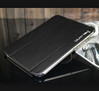 New luxury Protective Skins Leather Book Cover Case For Samsung Galaxy Tab 3 10.1 P5200 Free+ship + Free Screen Protector