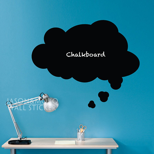 Thought font b bubble b font font b chalkboard b font wall decal font b speech