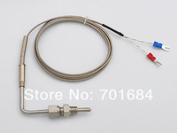 Free Shipping 2M Screw Celsius Thermocouple 12mm K Type for Exhaust Gas Temp Probe [GY01]