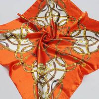 NEW big Size 90x90cm Silk Square Scarf Women Fashion Brand High Quality Cheap Imitated Silk Satin Scarves Polyester Shawl Hijab