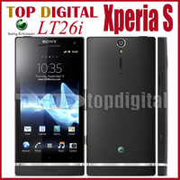 LT26i Unlocked Original Sony Xperia S LT26i Android OS, v2.3 Dual core 1G RAM 32G 4.3 inches GPS WIFI 3G Cell Phone