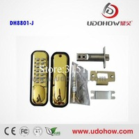 Absolutely mechanical no need power supply outdoor safe lock mechanism with code  DH-8801J