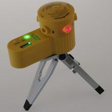Multifunction nível nivelador a Laser ferramenta Vertical Horizontal linha com tripé #30848(China (Mainland))