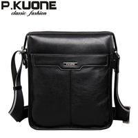 2014 Luxury Brand Designer Fashion Casual Genuine Leather Men Messenger Bags Male Shoulder Bag High Quality Cowhide Men Bags