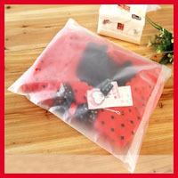 Free Shipping 100pcs/lot 40cm*60cm*70micron High Quality Matt Clothes Plastic Packaging Bags Retail Bags Wholesaler