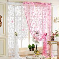 Romantic Butterfly Tassel String Door Curtain Fashion Window Room Divider Valanc