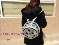 Promotion Laser Smile Hologram Backpack Hologram Shoulder Message Bag Designer's Bag