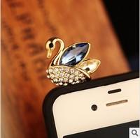 Min.order is $ 10 (Mix order) Free Shipping new 2014 Little Swan dustproof plug phone accessories anti dust