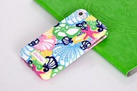 Luxury Sailboat Print TPU Soft Case Silicon Cover for Apple iphone 4 4s 4g wholesale top quality