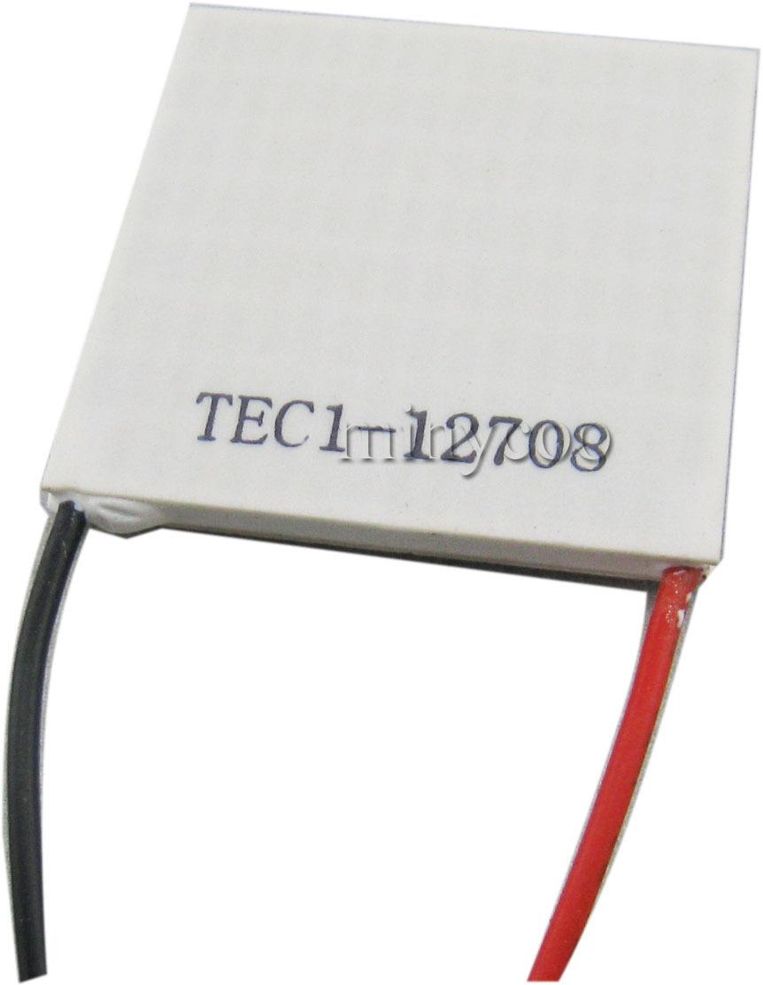 Placa de refrigeração TEC1-12708 TEC Thermo termoelétrica Peltier Cooler painel 40 X 40 mm(China (Mainland))
