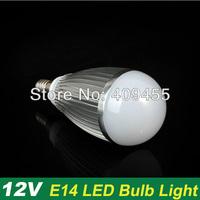 Wholesale(10pieces/lot) Led Bulb E14 AC/DC12V 9w 7w 6w 5w 4w 3w lighting Warm/White LED Light Bulb Lamp