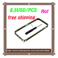 Freeshipping for iphone 5g super thin & latest aluminum metal frame replacement part mix colors available,Good Quality!