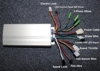 Free shipping! Controller 36V 750W (3-speed PAS LED Compatible)