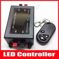 DC 12V-24V Wireless Remote Controller Light Single Color LED Dimmer Brightness Controller RF Dimmer Control 8A