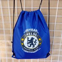 Chelsea football memorabilia fans supplies backpack schoolbag training shoe pocket pumping beam port package