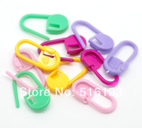 100Pcs/lot Colorful Plastic Needle Knitting Crotchet Locking Stitch Markers Holders Carfts Helper Sewing Accessories