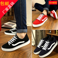 Fashion spring 2014 skateboarding shoes fashion shoes popular male shoes male breathable casual shoes